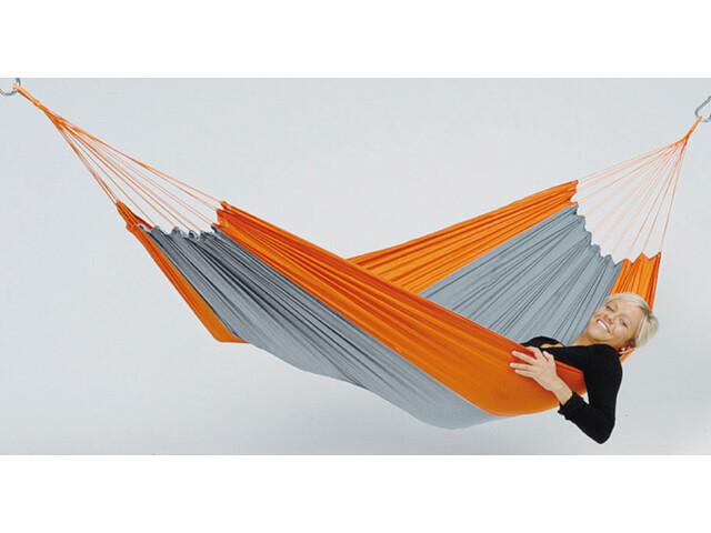 Amazonas Silk Traveller Hamac léger, orange/grey